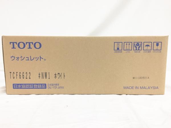 未使用 【中古】 TOTO ウォシュレット SB TCF6622 #NW1 ホワイト 温水洗浄便座 T3923352