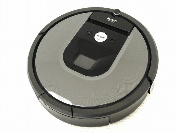美品 【中古】 iRobot ルンバ 960 ロボット 掃除機 自動 クリーナー Roomba 家電 O5129190
