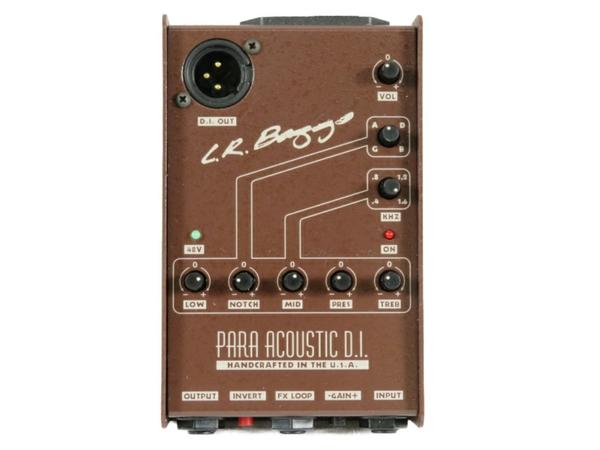 【中古】 中古 L.R.BAGGS PARA ACOUSTIC D.I プリアンプ ギター用 S3555869