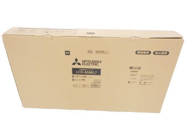 未使用 【中古】 MITSUBISHI 三菱 REAL LCD-40ML7 液晶テレビ 40V型 H3565858