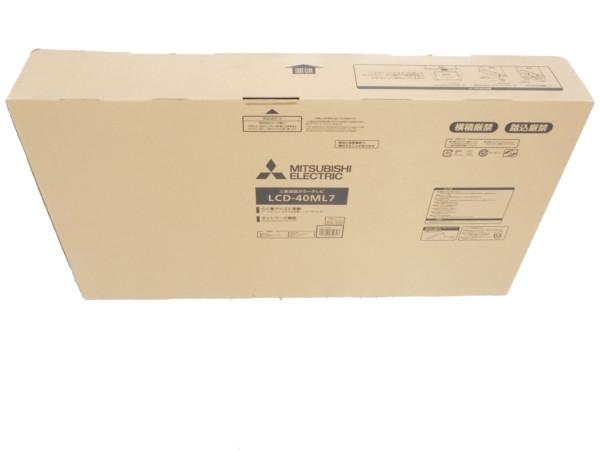 未使用 【中古】 MITSUBISHI 三菱 REAL LCD-40ML7 液晶テレビ 40V型 H3565380