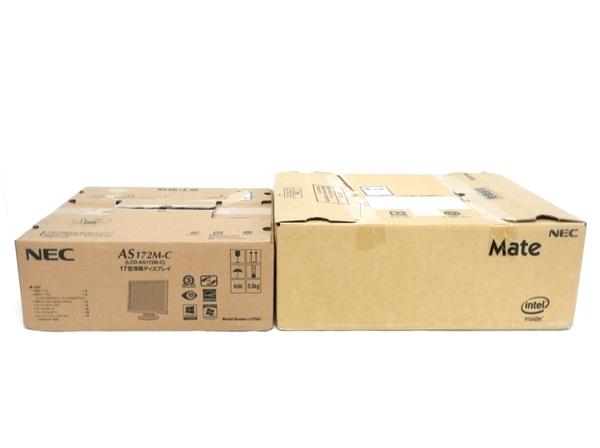 【スーパーセール】 新品 【】 新品 NEC Mate MK36H B-N デスクトップ PC モニター セット F1983700, メガネのれんず屋 e0af15b7