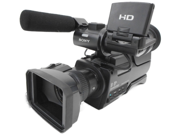 【中古】 SONY ソニー HXR-MC2000J 業務用 ビデオカメラ 撮影 AVCHDカムコーダー 64GB H3868649