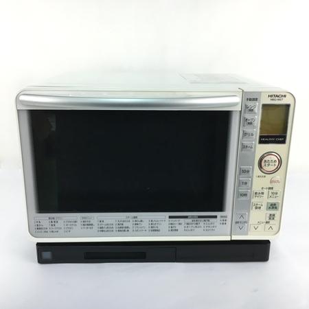 【中古】 HITACHI 日立 ヘルシーシェフ MRO-MS7 (W) 電子 オーブンレンジ 22L 家電 楽直 【大型】 Y3835305