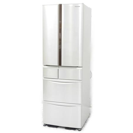 【中古】 Panasonic パナソニック NR-F431V-N トップユニット冷蔵庫 411L 6ドア フレンチドア【大型】 N5172378