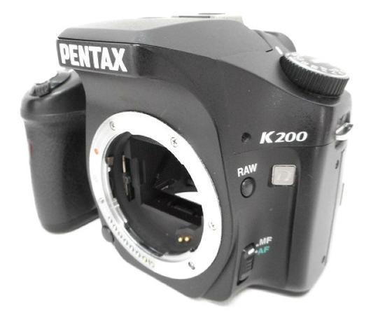 【中古】 PENTAX K200D ペンタックス デジタル カメラ W3544261