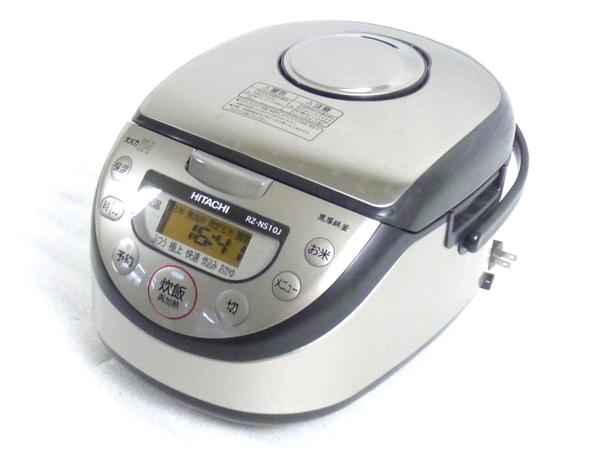 HITACHI 日立 極上炊き RZ-NS10J IH 炊飯器 5.5合 15年製  M3057155:ReRe(安く買えるドットコム)