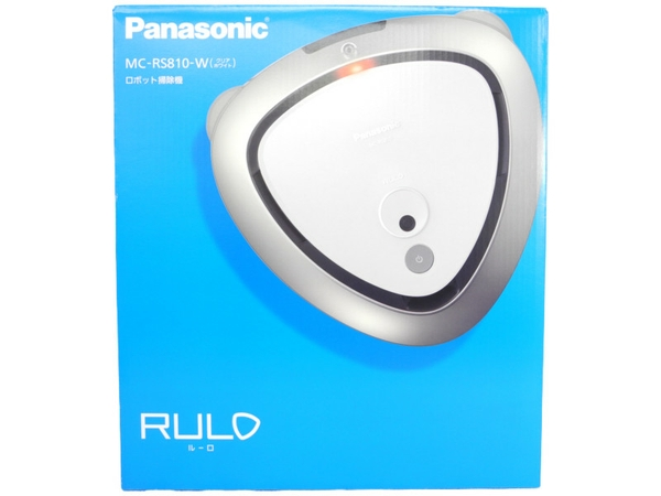 未使用 【中古】 Panasonic ロボット掃除機 RULO ルーロ MC-RS810-W クリアホワイト N3650969