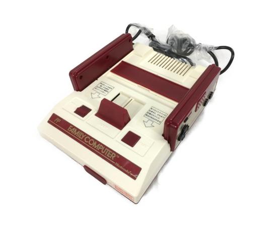 美品 【中古】 Nintendo 任天堂 ファミリーコンピューター HVC-001 ゲーム機  W4676349