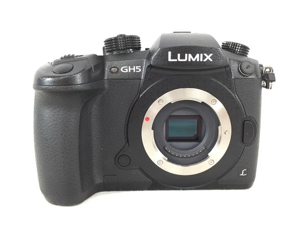 【中古】 Panasonic パナソニック LUMIX ルミックス DC-GH5M-K ミラーレス 一眼カメラ ボディ S4554780