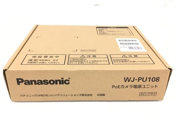 未使用 中古 Panasonic パナソニック 格安店 期間限定で特別価格 カメラ電源ユニット PoE WJ-PU108 T5897307