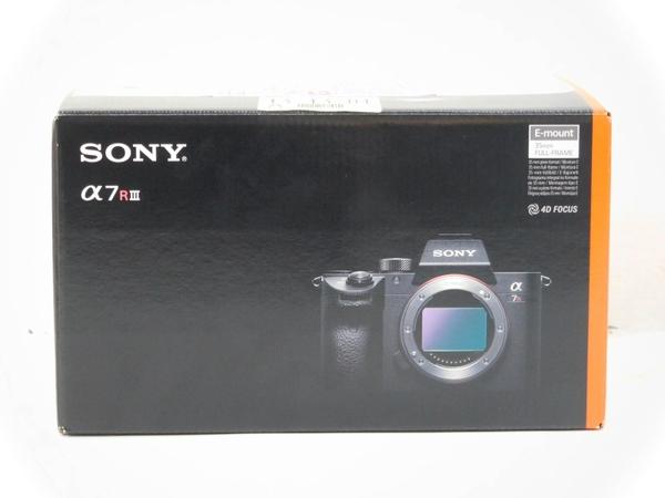 未使用 【中古】 SONY ソニー α 7R III 3 ILCE-7RAM3 レンズ 交換式 デジタル 一眼 カメラ ボディ 4K M3662050