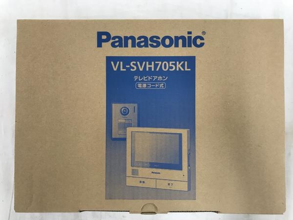 未使用 【中古】 Panasonic VL-SVH705KL テレビドアホン 電源コード式 パナソニック インターホン T3864376