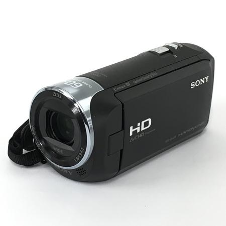 【中古】 SONY ソニー ビデオカメラ HDR-CX470 32GB 光学30倍 ブラック Handycam Y4896368