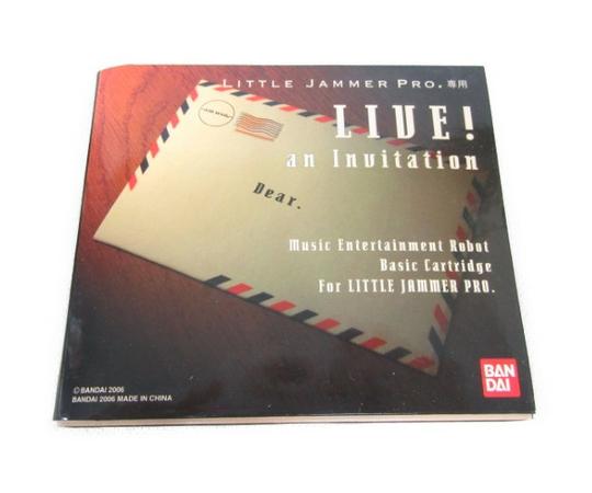 BANDAI バンダイ LITTLE JAMMER PRO. 専用 LIVE! an Inuitation カートリッジ  N3298687:ReRe(安く買えるドットコム)