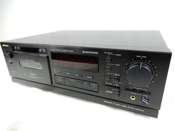 【中古】Victor ビクター TD-V731 ステレオ カセットデッキ K3306697