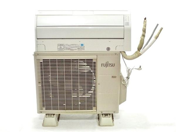【中古】 富士通ゼネラル AO-R22E AS-R22E-W インバーター冷暖房エアコン 「ノクリア」Z シリーズ 200V 楽 【大型】 T3269049
