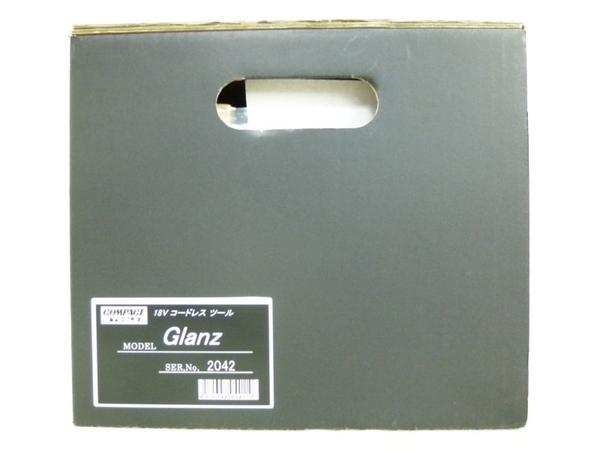 未使用 【中古】 コンパクトツール Glanz グランツ 18V コードレスツール N3165601