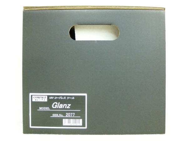 未使用 【中古】 コンパクトツール Glanz グランツ 18V コードレスツール N3165961