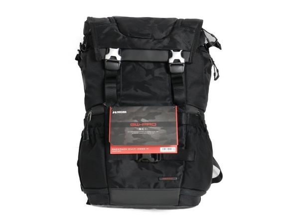 【中古】 HAKUBA GW-PRO RED バックパック マルチモード M 18L ブラックカモ SGWPR-3BPM  S3414874