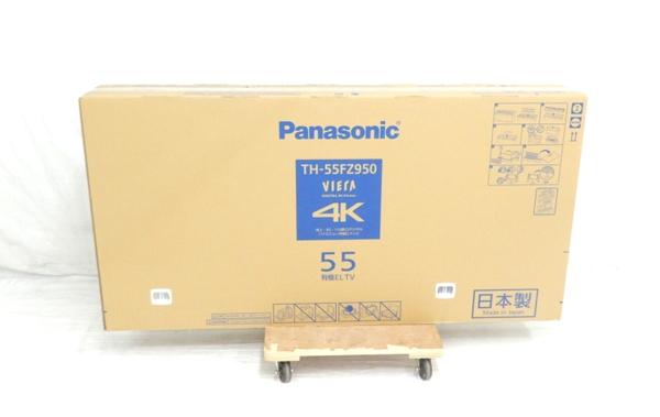 未使用 【中古】 未開封 Panasonic パナソニック VIERA TH-55FZ950 テレビ 55型 4K 有機EL TV 映像機器 生活家電 【 2018年発売モデル!! 】【大型】 Y3672555