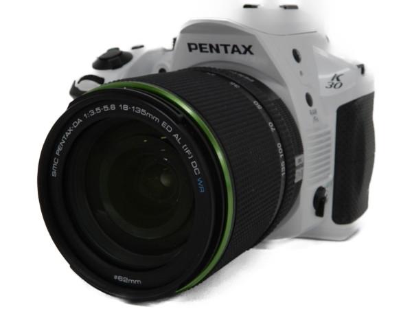 【中古】 中古 PENTAX ペンタックス K-30 DA 1:3.5-5.6 18-135mm ED AL レンズ キット 一眼 カメラ F3564474