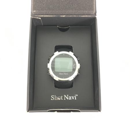美品 【中古】 ShotNavi ショットナビ W1-FW ゴルフ GPS ナビ 腕時計型 テクタイト Y3906966
