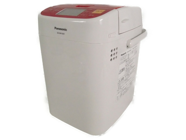 【中古】 Panasonic パナソニック SD-BH1001-R ホームベーカリー 1斤 S3497496
