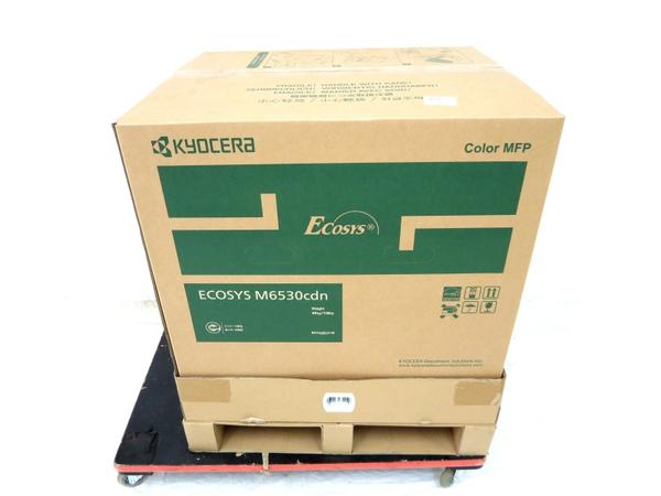 大人気の 未使用 【】 KYOCERA 京セラ ECOSYS M6530cdn A4 カラー コピー機 複合機 M3365772, バイクショップ ハンター 52c06f7b