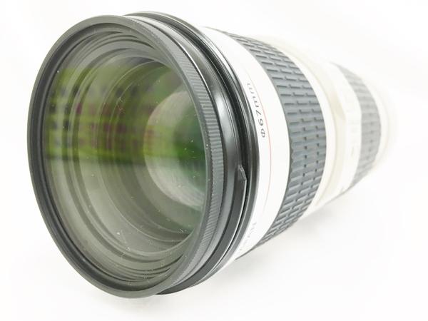 【中古】 キヤノン EF70-200mm F4L IS USM EF70-20040LIS US レンズ T3896408