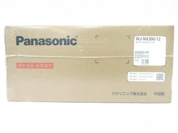未使用 【中古】 Panasonic WJ-NX300/12 ネットワーク ディスクレコーダー WJ-NX300シリーズ 12TB パナソニック 防犯 O3544099