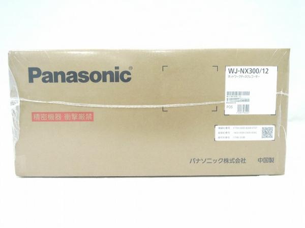未使用 【中古】 Panasonic WJ-NX300/12 ネットワーク ディスクレコーダー WJ-NX300シリーズ 12TB パナソニック 防犯 O3544216