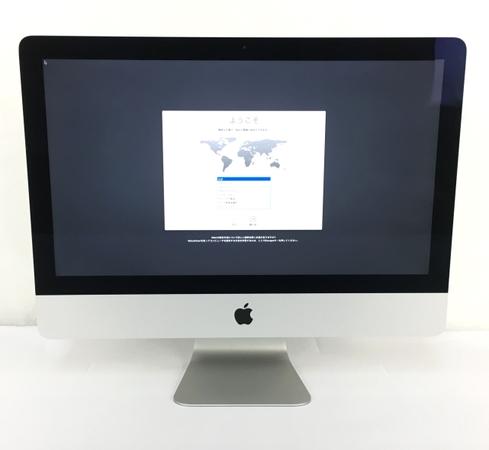 【中古】 Apple iMac 21.5-inch Late 2015 i5 1.6GHz 8GB HDD 1TB 一体型 PC パソコン Y3895208