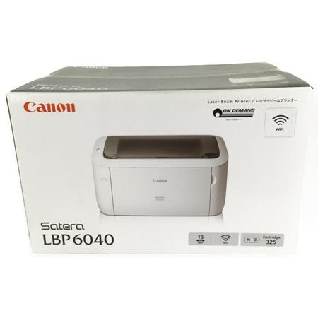 未使用 【中古】 Canon キャノン Satera LBP6040 モノクロ レーザー プリンター A4 家電 Y3916771