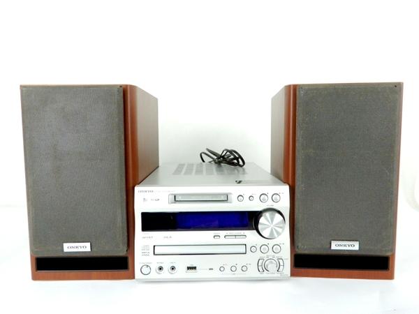 【中古】 ONKYO オンキョー FR-N7FX D-N7FX コンポ CD MD オーディオ 音響 機器 Y3557383
