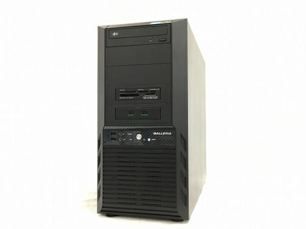 【中古】 Thirdwave Diginnos Prime Galleria FZ C05 デスクトップ パソコン i7 7700K 4.20GHz 16GB SSD 480GB / HDD 1.0 TB Win10 Home 64bit T3780305