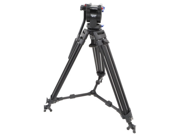 【中古】訳あり 中古 ダイワ Daiwa DST-73 3段 中型 業務用 三脚 ビデオ カメラ  H3889415