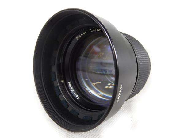最終値下げ 美品【】 CONTAX CONTAX 85mm Planar T* 85mm F1.2 T* 60周年 レンズ K2169138, 越智郡:7db45712 --- fotostrba.sk