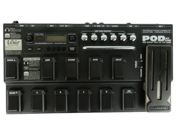 【中古】 LINE6 ポット RX POD XT Live マルチ エフェクター 機器 Y3499082