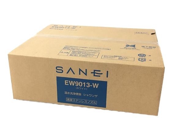 未使用 【中古】 三栄 SANEI シャワンザ EW9013-W 温水洗浄便座 ホワイト W5111901
