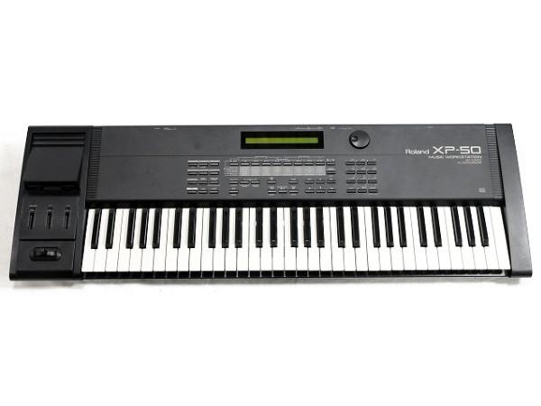 【中古】 Roland ローランド XP-50 MUSIC WORKSTATION シンセサイザー 中古 T3494446