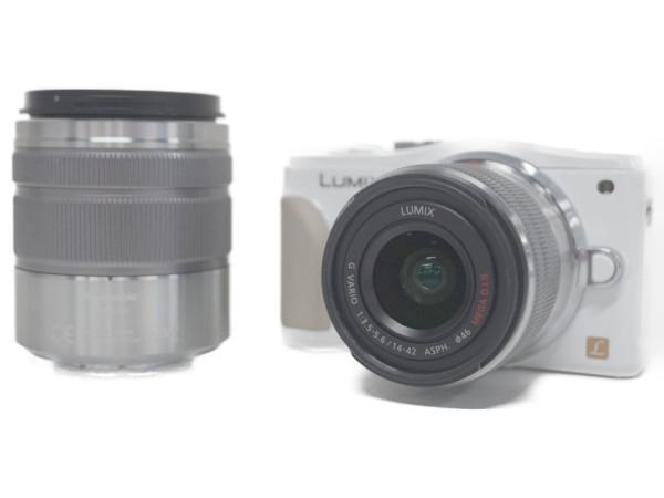 激安 【】 Panasonic パナソニック LUMIX GF6 ダブルズームレンズキット DMC-GF6W-W カメラ ミラーレス一眼 ホワイト F4242459, 健康スタイル 4f9df610