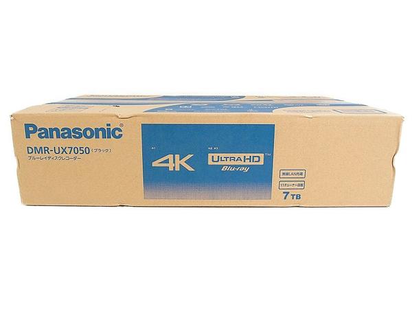 憧れの 未使用【】 DIGA Panasonic パナソニック DIGA ディーガ DMR-UX7050 ブルーレイレコーダー Blu-ray ブラック おうちクラウド 7TB 11チューナー Blu-ray BD ブルーレイレコーダー 家電 S3297724, クオワークス--青木鞄OfficialShop:bb59dc0f --- baecker-innung-westfalen-sued.de