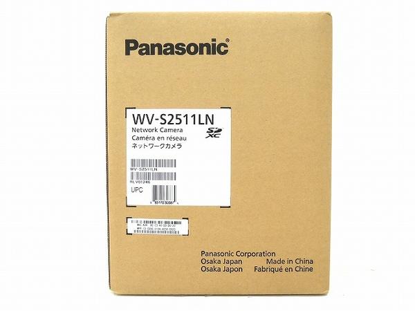 未使用 【中古】 未開封 Panasonic WV-S2511LN 監視 カメラ パナソニック 防犯カメラ O3917726