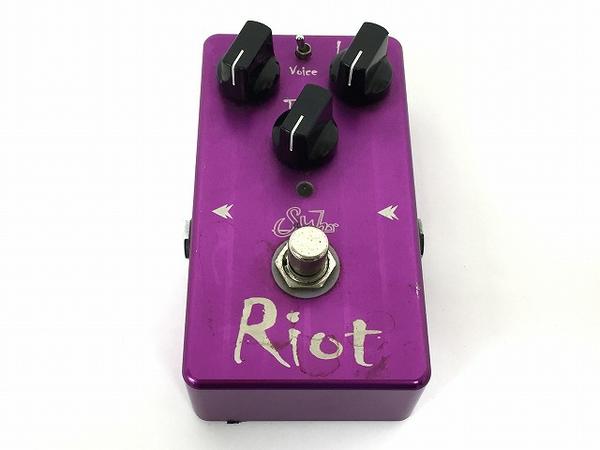 【中古】Suhr Riot ディストーション エフェクター ギター コンパクトペダル distortion 中古 T4871573