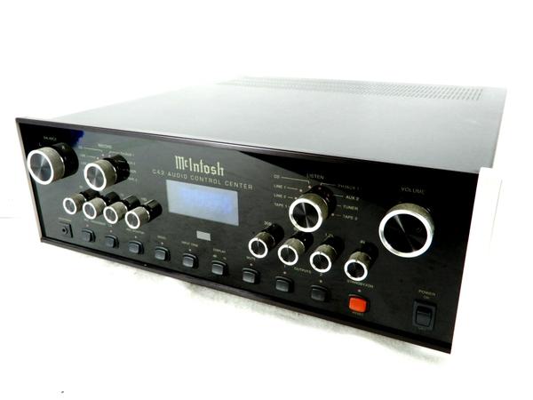 【中古】 良好 Mcintosh マッキントッシュ C42 コントロール アンプ リモコン 付 音響 機器 オーディオ K3553913