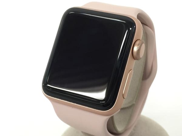 【中古】 Apple Watch Series 3 MQKW2J/A 38mm ピンク アップルウォッチ T3326819