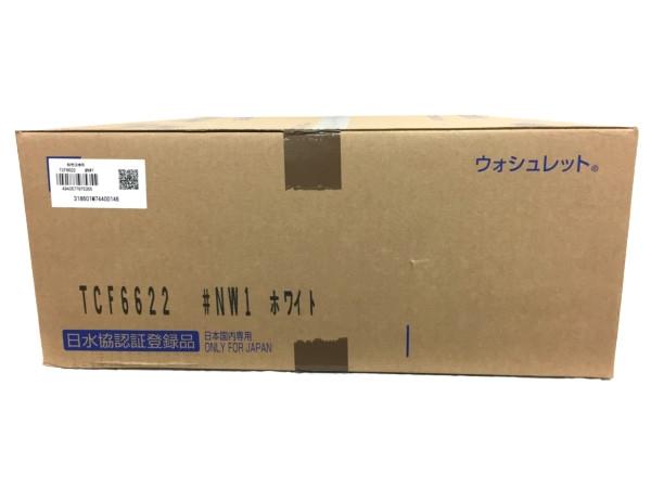 未使用 【中古】 TOTO 温水洗浄便座 ウォシュレット SB TCF6622 #NW1 ホワイト T3485408