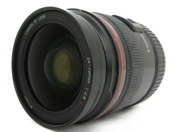 【中古】 Canon キャノン EF 24-70mm F2.8 L USM ズームレンズ フード付き N4245922