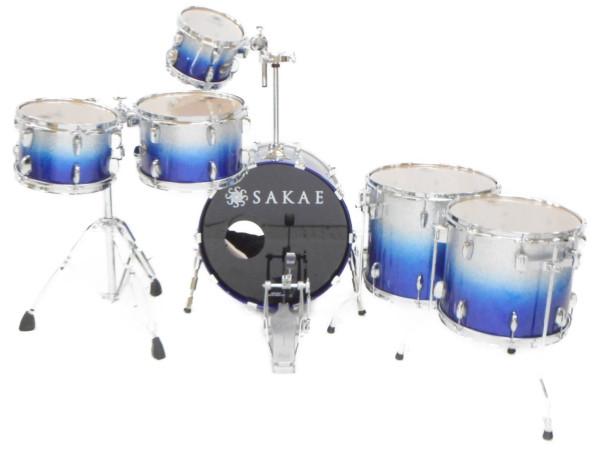 【中古】SAKAE サカエ The Almighty Maple Ocean ドラムセット イス付属 打楽器 楽器 音楽 練習 バンド  H3777984